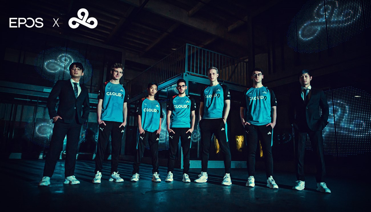 EPOS is the Official Audio Partner for Cloud 9